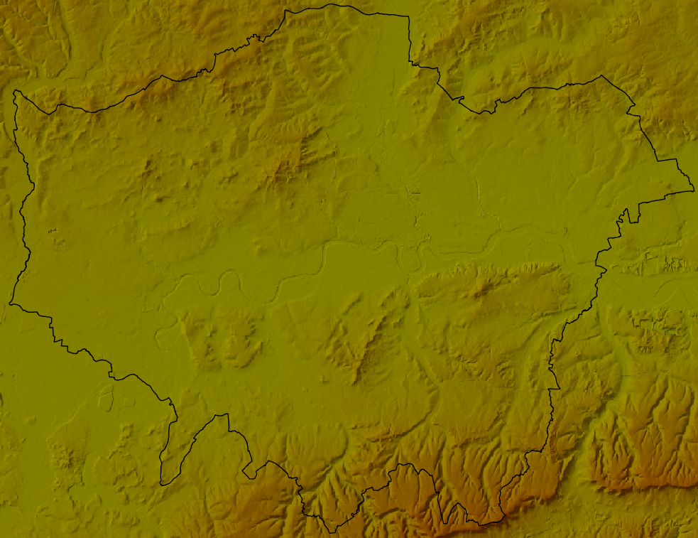 Getting Started With OS Terrain Elevation Data Updated Jan - Terrain elevation data